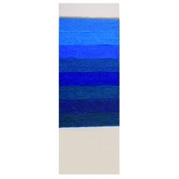 Laines bleues